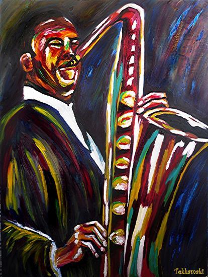 John Coltrane par Tekkamaki